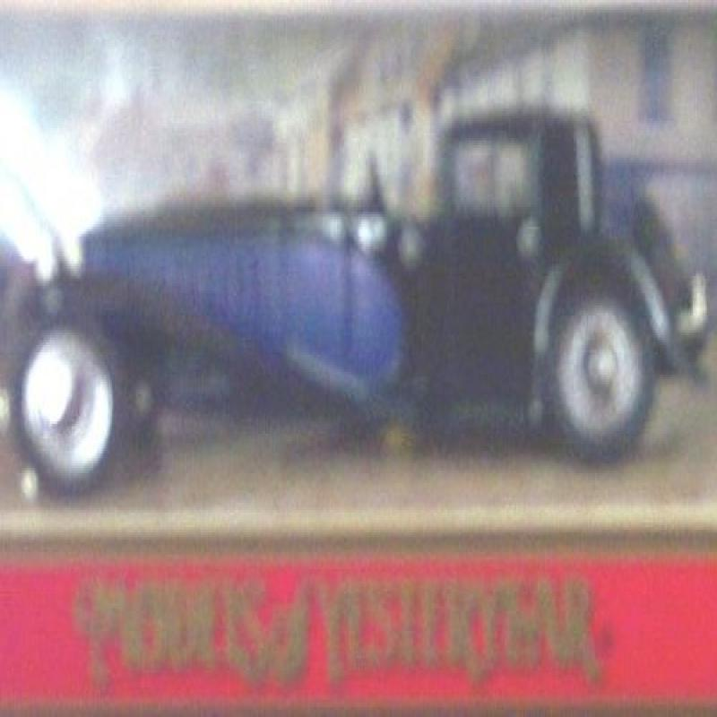 Matchbox Models of Yesteryear Y45 1930 Bugatti Royale Blue and Black 1:46 Scale Diecast by