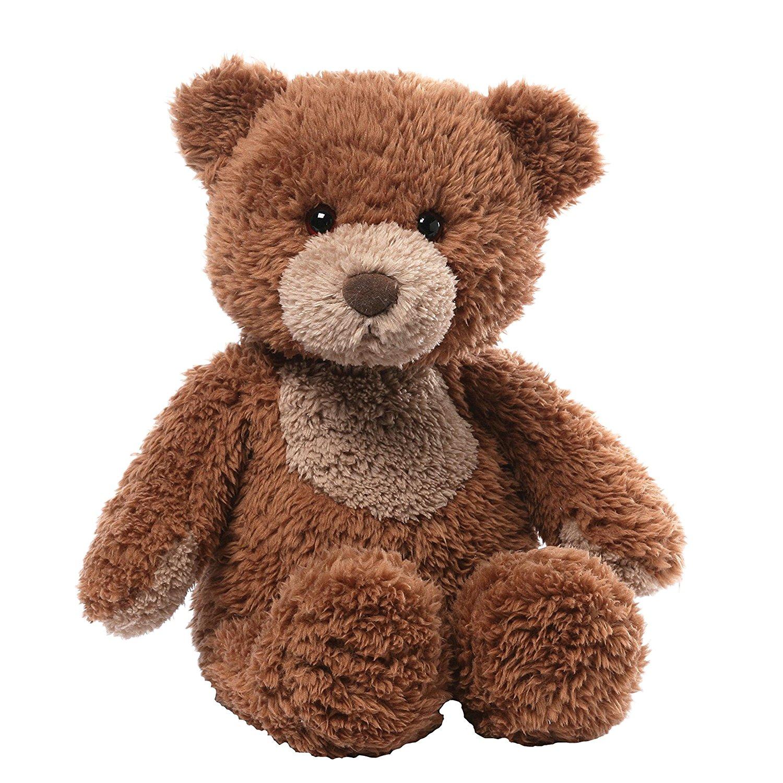 Lil Bear Teddy Bear Stuffed Animal Plush, Lil' Bear tan teddy with traditional design for a timeless gift... by GUND