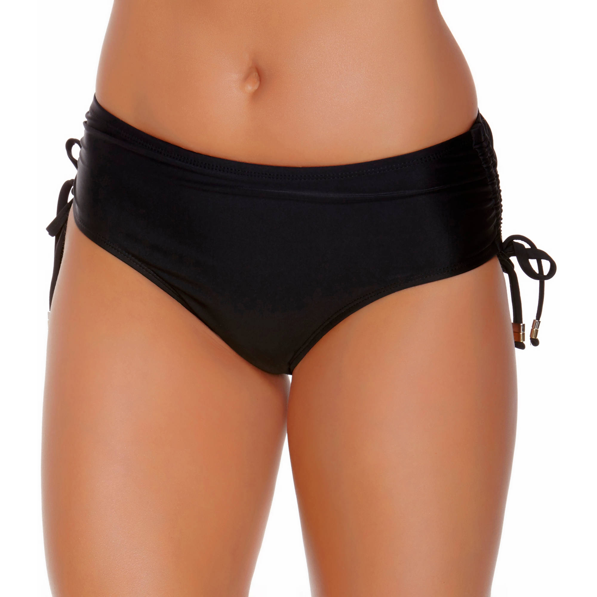 Collections by Catalina Women's Full Coverage Swimsuit Bottom With Adjustable Ties