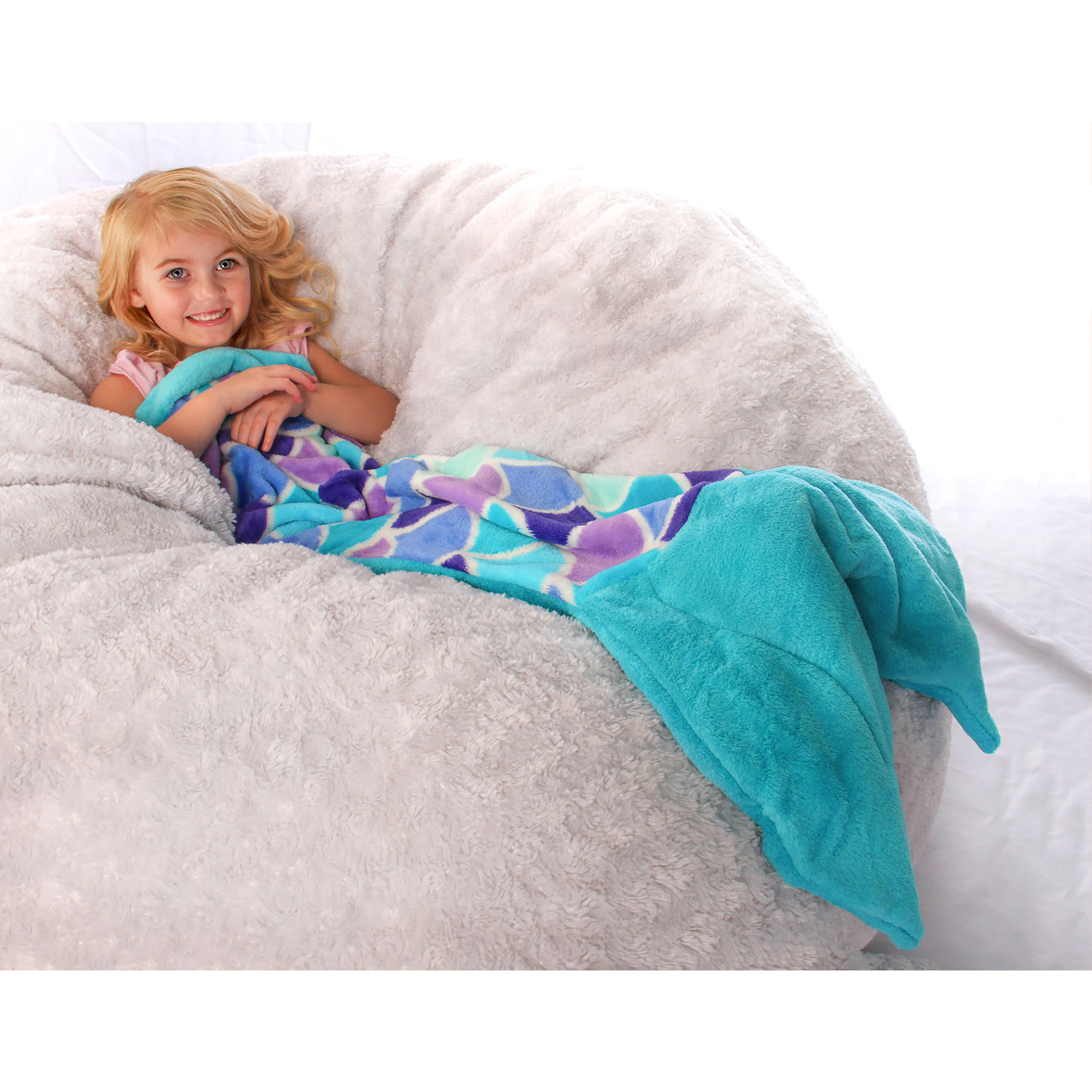 Mermaid Tail Blankets For Kids Toddler And Adults From Fin Fun