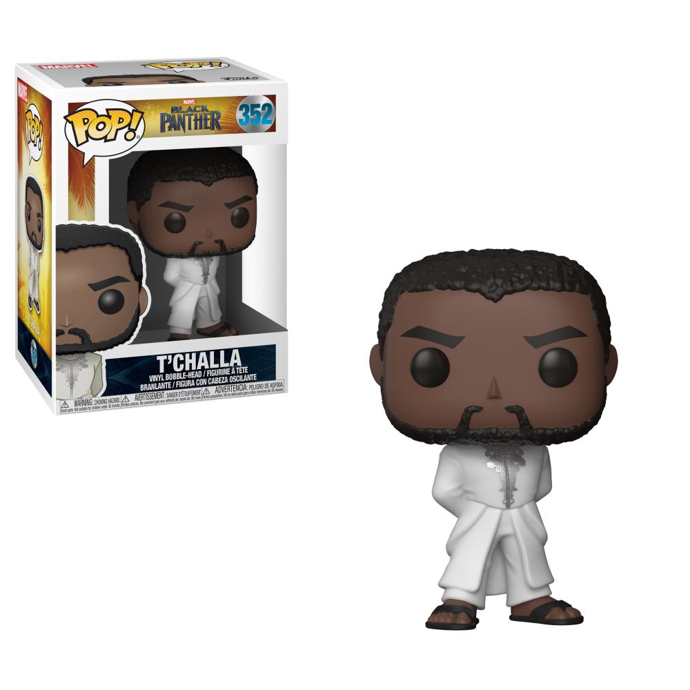 FUNKO POP! MARVEL: Black Panther Robe (White)