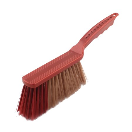 Hotel Family Plastic Handle Sofa Bed Sheets Lint Remover Brush Red Brown