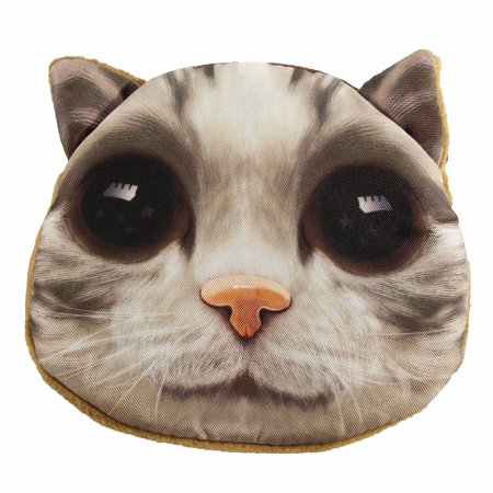 Lovely Animal Dog Cat Face Coin Zipper Pocket Mini Handbag Wallet - image 1 of 4