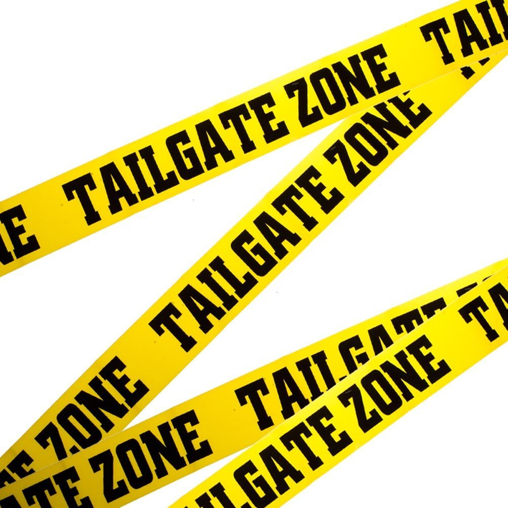 TailGate Party Zone Football Game Tape, The Tailgate Zone Party Tape features the words... by