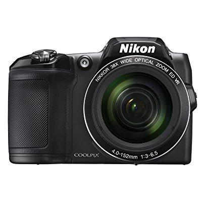 Nikon COOLPIX L840 Digital Camera with 38x Optical Zoom and Built-In Wi-Fi (Black) (Certified Refurbished)