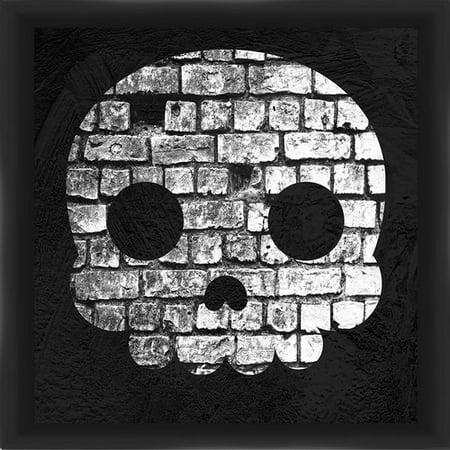 PTM Images Halloween Skull Framed Graphic Art - Halloween Frans