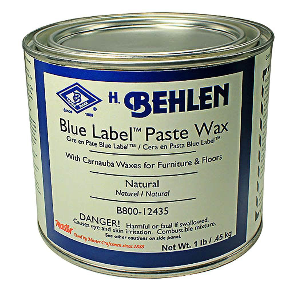 Behlen Blue Label Paste Wax 1 Lb. Natural