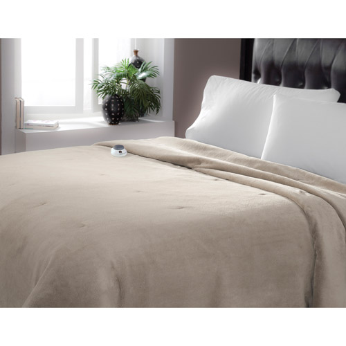 Serta Low Voltage Luxury Plush Warming Blanket