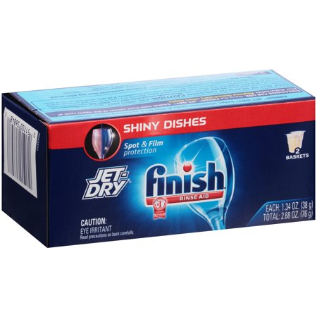 Finish Jet Dry Solid Rinse Aid 2 68 Oz 2 Baskets