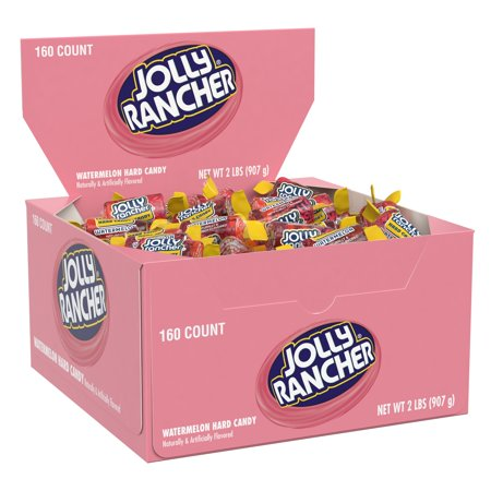 Jolly Rancher, Watermelon Hard Candy, 32 Oz, 160 Ct