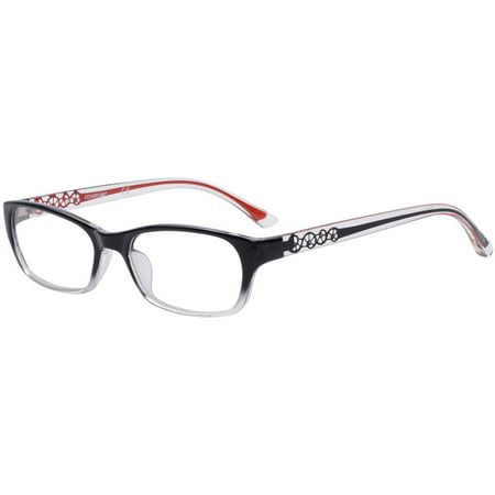 1e7e0abd1b49 COVERGIRL Women's Eyeglass Frames, Black/Red - Walmart.com