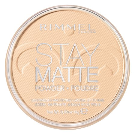 Rimmel Stay Matte Pressed Powder, Transparent (Dead White Face Powder)