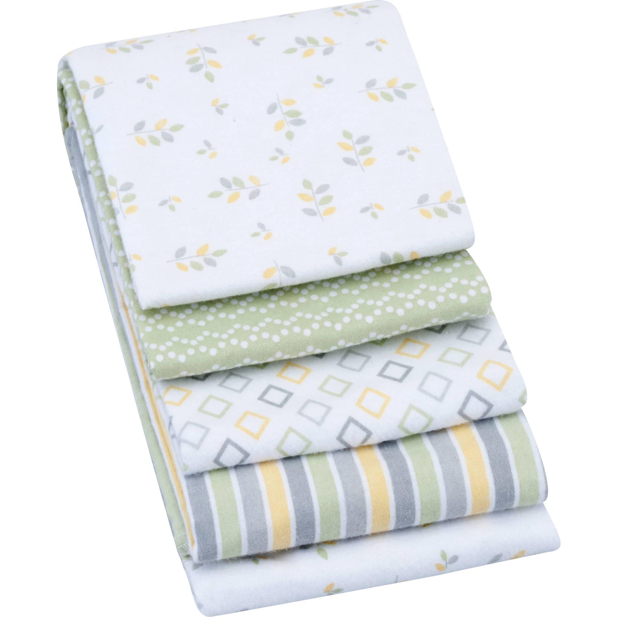 Garanimals Receiving Blanket, 4-Pack, Gray
