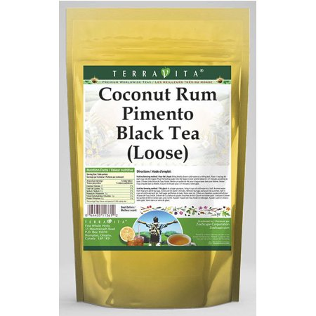 Coconut Rum Pimento Black Tea (Loose) (8 oz, ZIN: 538091)