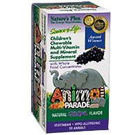 Animal Parade - Grape Nature's Plus 90 Chewable