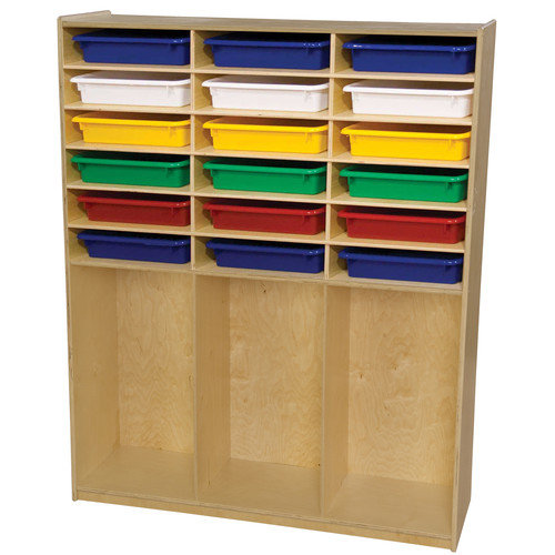Wood Designs 21 Compartment Cubby Locker