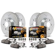 Power Stop Front and Rear Z36 Truck & Tow Brake Pad and Rotor Kit K6268-36