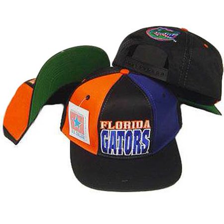 NCAA FLORIDA GATORS SNAP BACK FLAT BILL OLD SCHOOL HAT