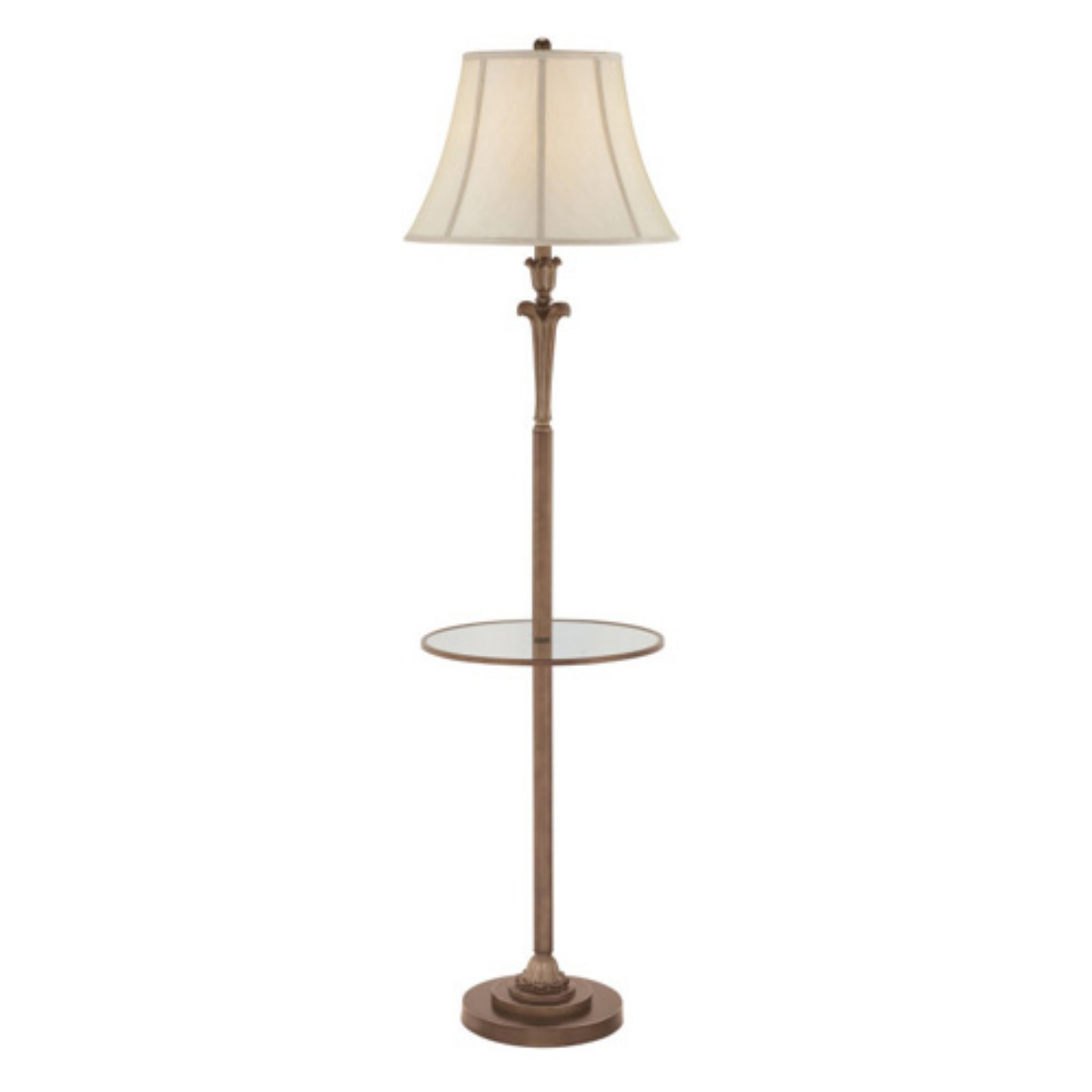 Quoizel Archer Q1073FPN Floor Lamp with Table by Quoizel