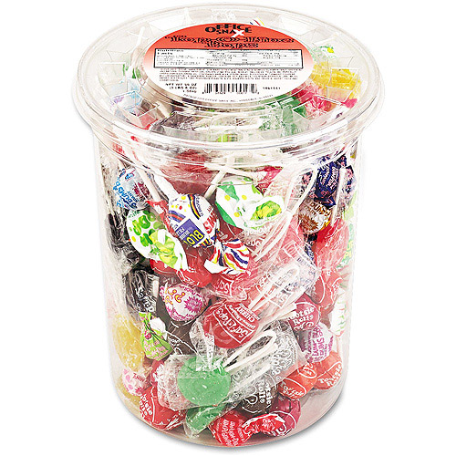 Office Snax Top O' The Line Candy Pops, 3.5 lb