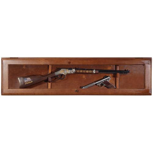 American Furniture Classics Woodmark Series 10 Gun Cabinet   Walmart.com