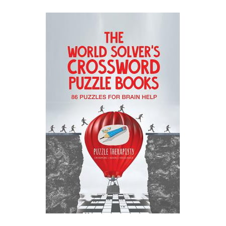 The World Solver's Crossword Puzzle Books 86 Puzzles for Brain Help - Halloween Crossword Solver