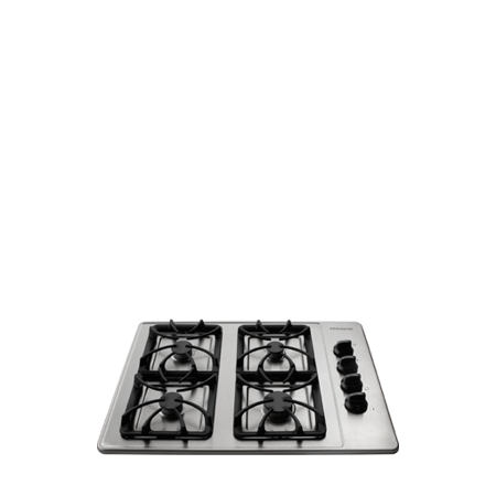 723711120 Frigidaire--FFGC3015LS-30-Gas-Cooktop-with-4-Sealed-Burners-Cast-Iron -Grates---Stainless-Steel - Walmart.com
