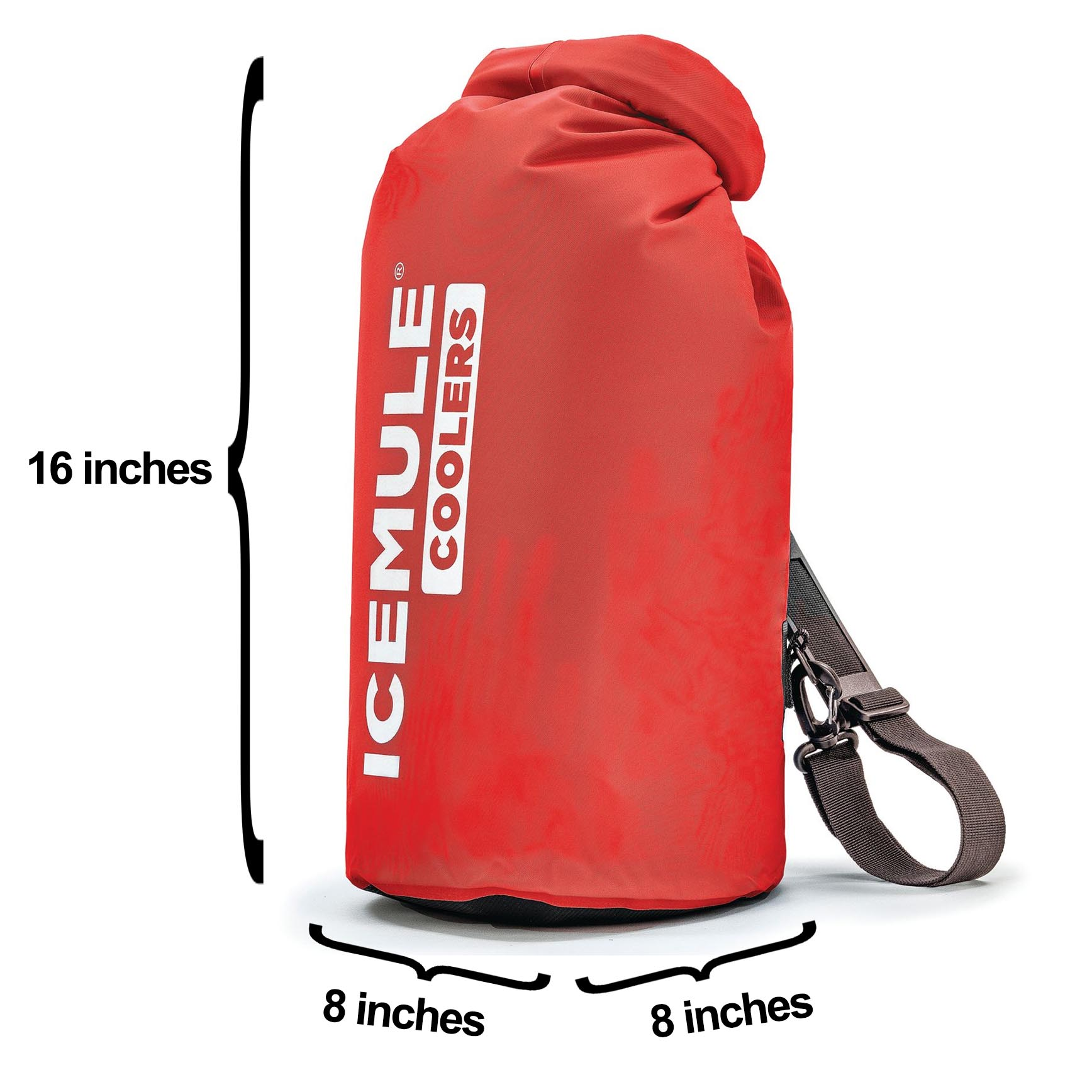 IceMule Classic Large 20 Liter 18 Can Soft Insulated Waterproof Backpack Cooler
