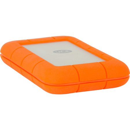 Lacie Rugged Lac9000488 1 Tb External Hard Drive   Thunderbolt  Usb 3 0   Sata   5400Rpm   64 Mb Buffer   110 Mb S Maximum Read Transfer Rate   Portable