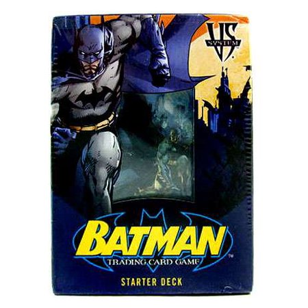 DC VS System Trading Card Game Batman Starter Deck