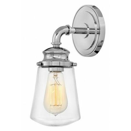 Hinkley Lighting-5030CM-Fritz - One Light Wall Sconce  Chrome Finish ()