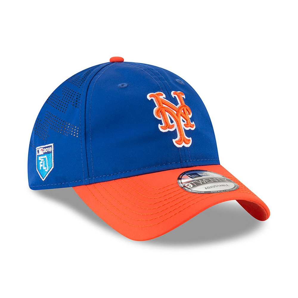 New York Mets New Era 2018 Spring Training Collection Prolight 9TWENTY Adjustable Hat - Royal - OSFA