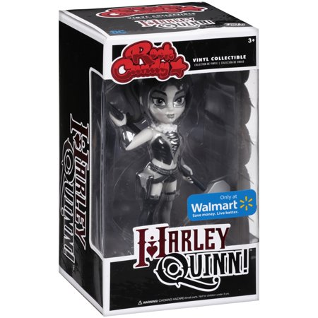 Funko Rock Candy: DC Harley Quinn Black and White Walmart Exclusive