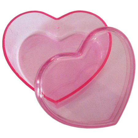 Small Heart Shaped Favor Box Kit for 20 - Heart Shaped Favor Boxes