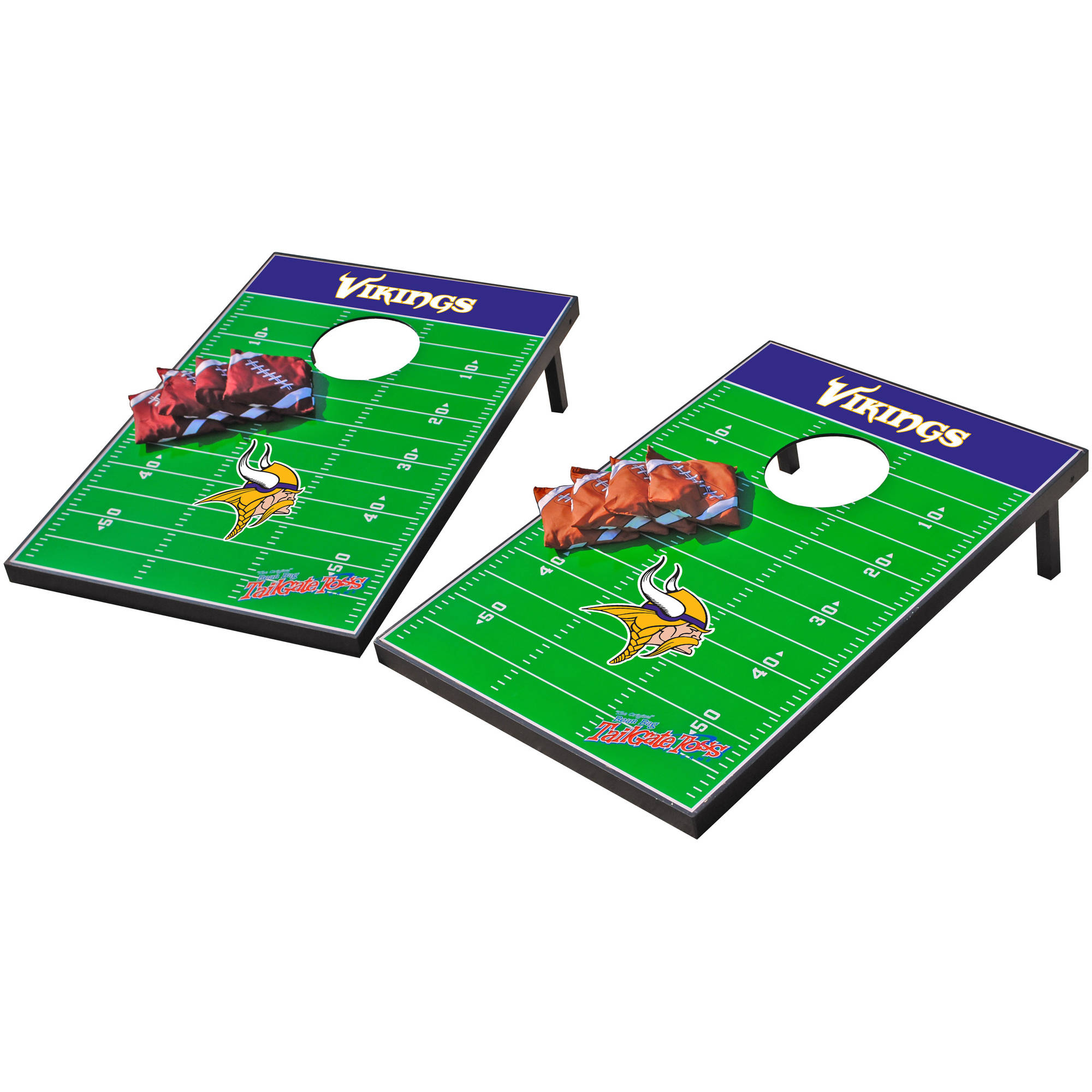 Wild Sports NFL Minnesota Vikings 2x3 Field Tailgate Toss