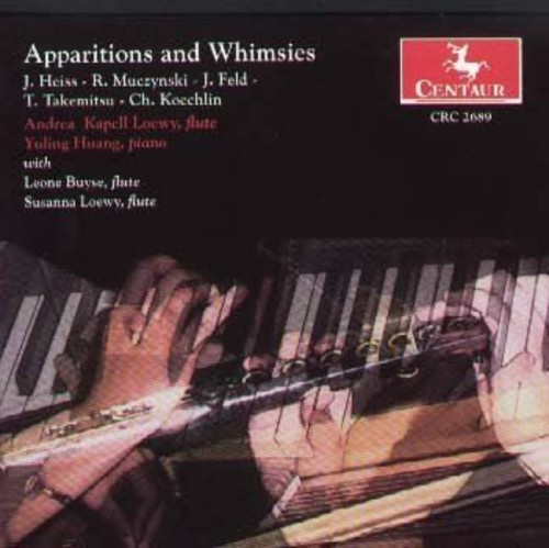 Apparitions for Flute & Piano by