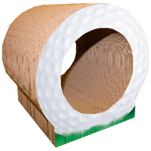 Imperial Cat Scratch n' Shapes Golf Ball Recycled Paper Scratching Board