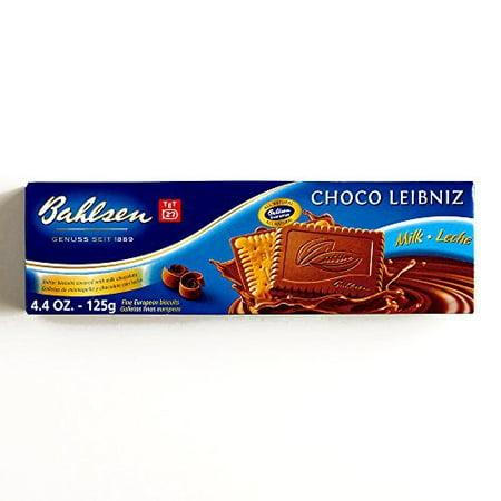 Bahlsen Leibniz Milk Chocolate Cookies 4.4 oz each (2 Items Per - Bahlsen Chocolate