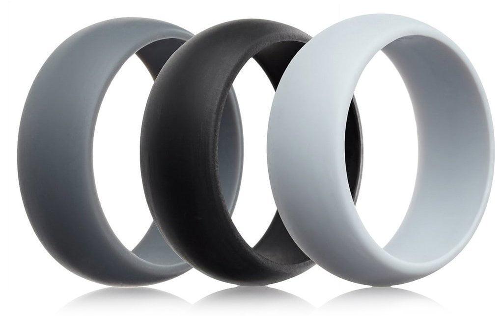 Men S Silicone Wedding Band.Mcboson Blue Silicone Wedding Ring Wedding Band 7mm Wide 2mm Thick