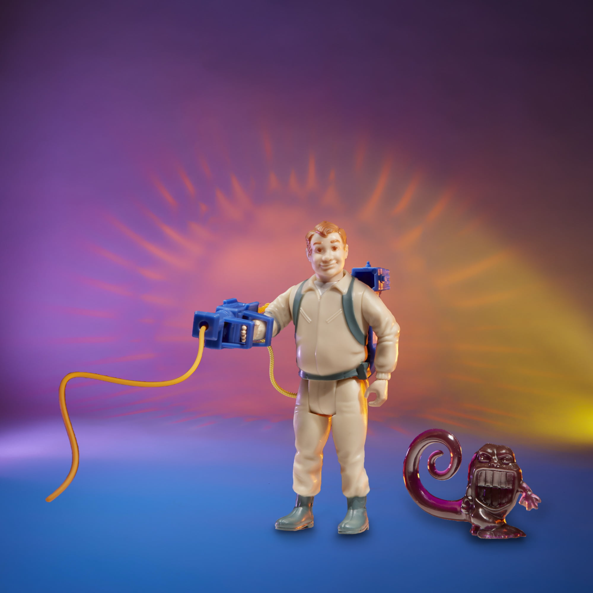 Kenner The Real Ghostbusters Ray Stantz Wrapper Ghost figures Walmart Exclusive