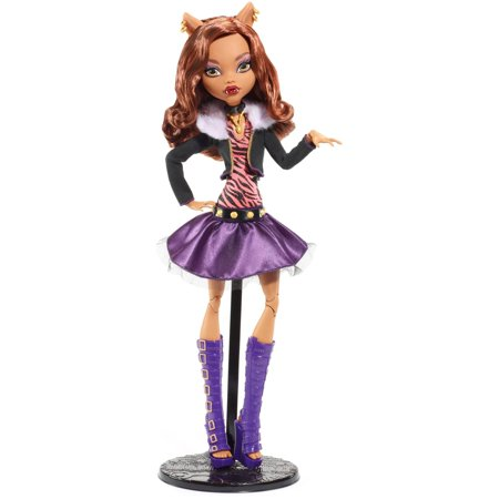 monster high frightfully tall ghouls clawdeen wolf doll - Clawdeen Wolf Halloween Costume