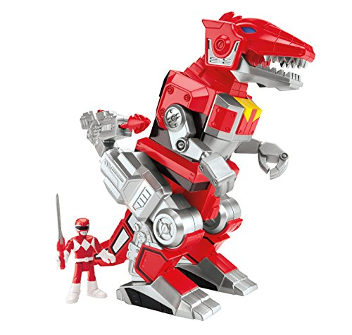 Fisher Price IMaginext Power Rangers Red Ranger And T-Rex Zord by
