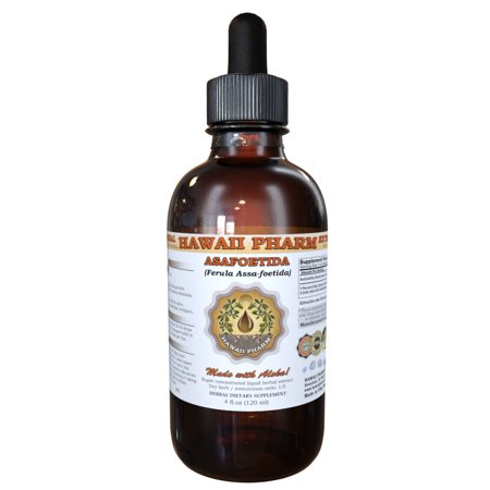 Asafoetida (Ferula Assa-foetida) Tincture, Organic Dried Herb Powder Liquid Extract, A Wei, Herbal Supplement 2 oz