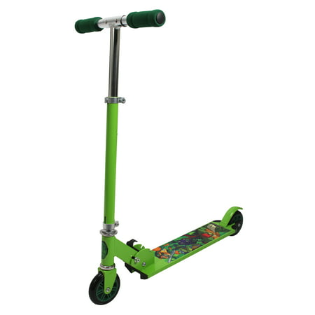 PlayWheels Teenage Mutant Ninja Turtles Aluminum Folding Scooter