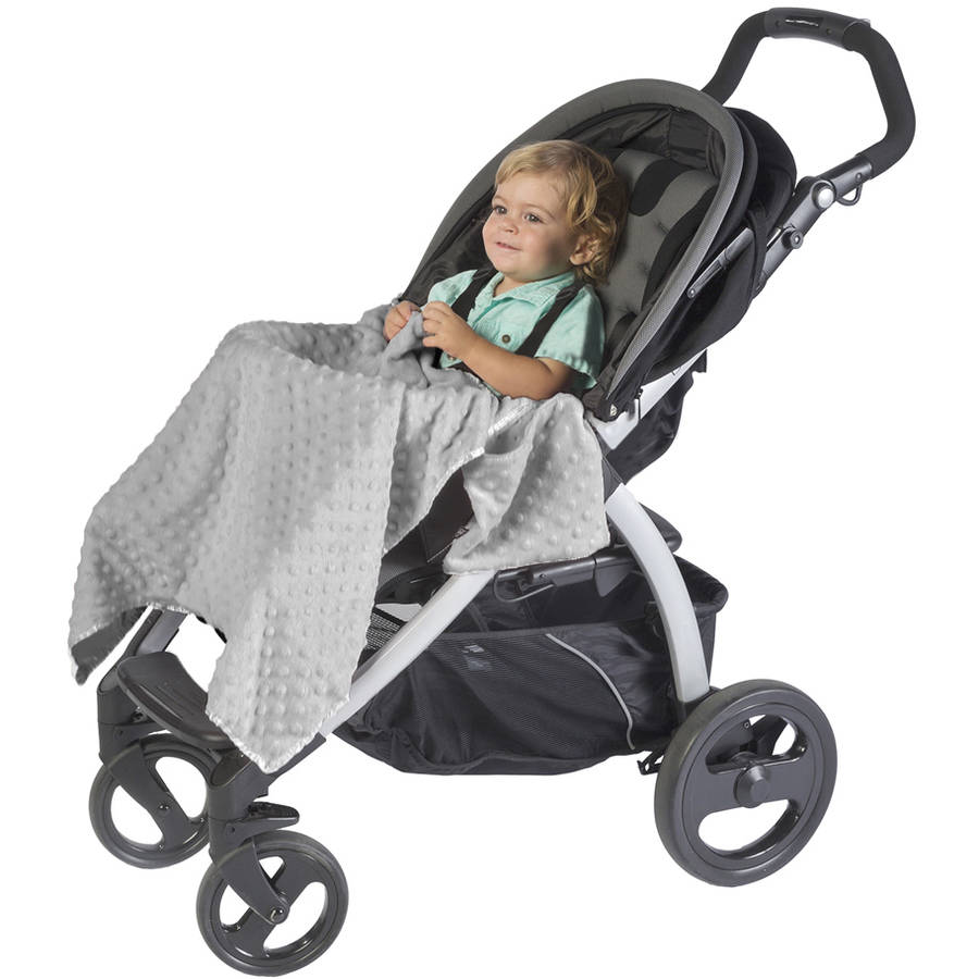 J.L. Childress Cuddle 'N Cover Stroller Blanket, Gray
