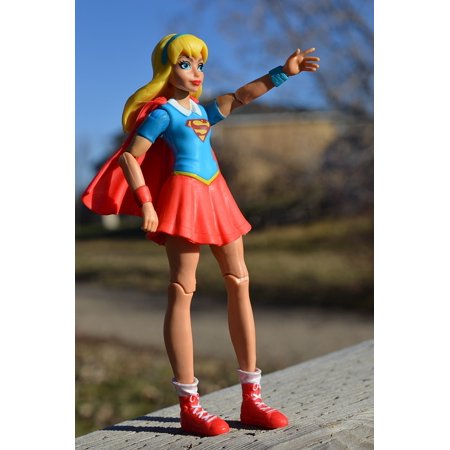 Canvas Print Superhero Female Supergirl Action Figure Power Stretched Canvas 10 x 14 - Superheroes That Are Female