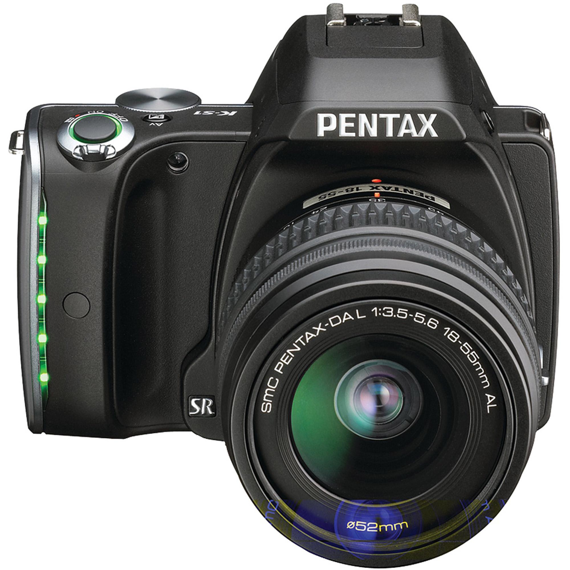 Pentax K-S1 - Digital camera - High Definition - SLR - 20.12 MP - 3 x optical zoom DA L 18-55mm AL lens - black