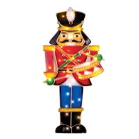 product image lighted nutcracker soldier christmas decoration
