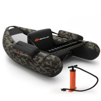 Deals on Costway Inflatable Fishing Float w/Straps & Storage Pockets