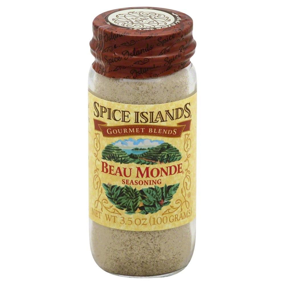 Island Spice Spice Islands Beau Monde Seasoning, 3.5 Ounce